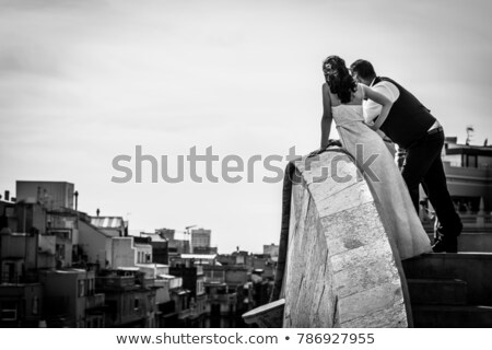 Affectionate couple stood close together Stock photo © photography33