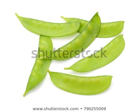 sugar snap peas stock photo © alexeys