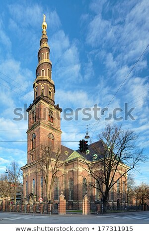 Our saviour's church in Copenhagen Stock photo © Arrxxx