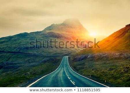 Uzun yol iğne iplik güzel sanat Stok fotoğraf © grechka333