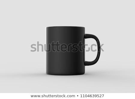 Empty black mug stock photo © javiercorrea15