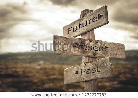 Looking into past Stock photo © stevanovicigor