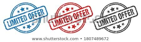 'Limited Offer' stamp Stock photo © burakowski