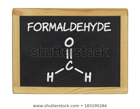 Tablicy chemicznych wzoru technologii piśmie czarny Zdjęcia stock © Zerbor