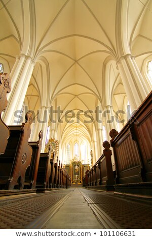 interior of the marienkirche in berlin germany stock photo © spectral