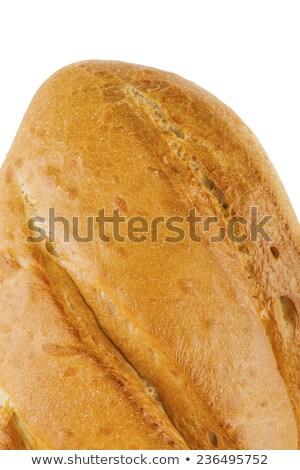 Marcar primer plano aislado blanco salud sándwich Foto stock © OleksandrO
