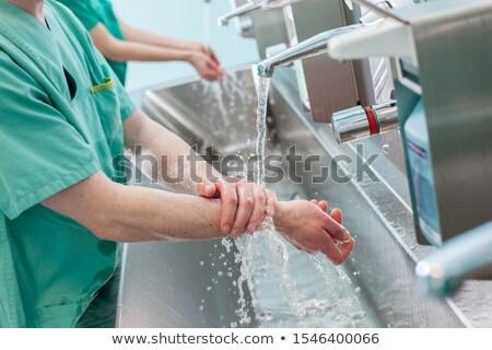 washbasin in a hospital Stock photo © phbcz