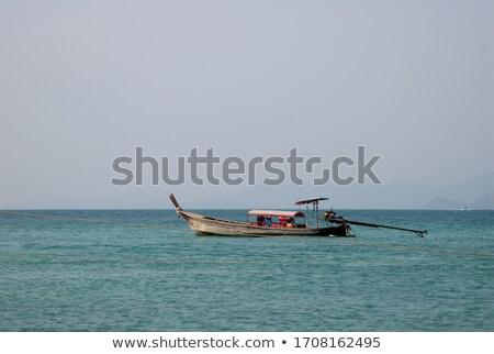 Thai fishing schooner Stock photo © ssuaphoto
