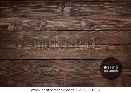 Naturales oscuro madera pared madera Foto stock © H2O