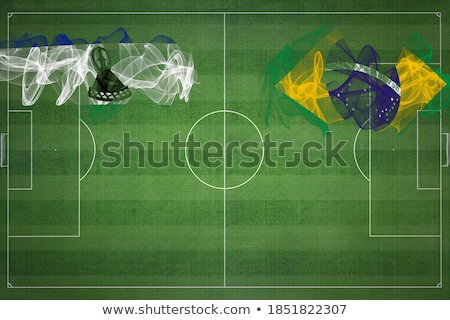 Brazil and Lesotho Flags Stock photo © Istanbul2009