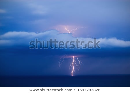 Dramatic weather at sea  Stock photo © Kotenko