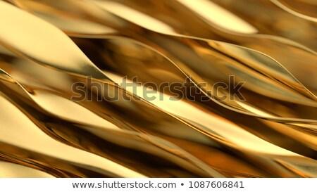 Mooie zachte golven reflectie pauze zandstrand Stockfoto © morrbyte