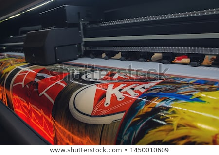 print roll for wide-format printers Stock photo © prill