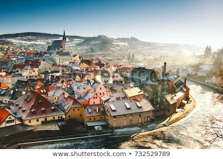 Прага · улице · здании · город · стены - Сток-фото © phbcz