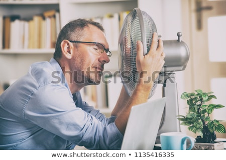 Hot Working man Stock photo © lovleah