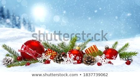 snowflake pile blue space Stock photo © nicemonkey