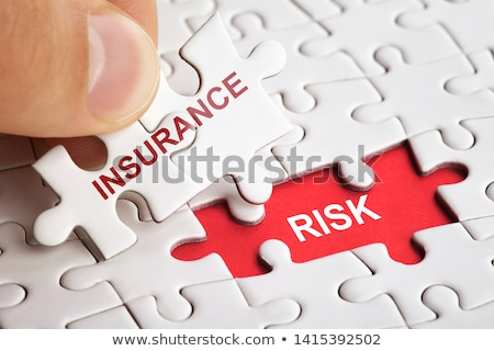 Puzzle with word Insurance Stock photo © fuzzbones0