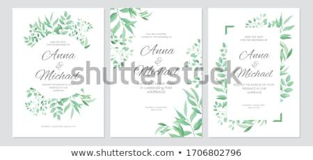 fiori · menu · texture · sfondo · foglie - foto d'archivio © bluering