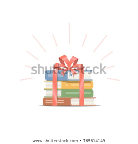 Stock photo: book gift