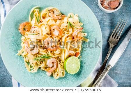 alho · pronto · tradicional · comida · italiana · comida · fundo - foto stock © AlessandroZocc