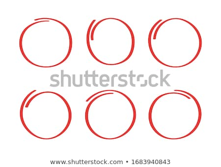 Divided red sphere  Stock photo © Silanti