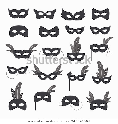 Mardi Gras Mask icon. Stock photo © Olena
