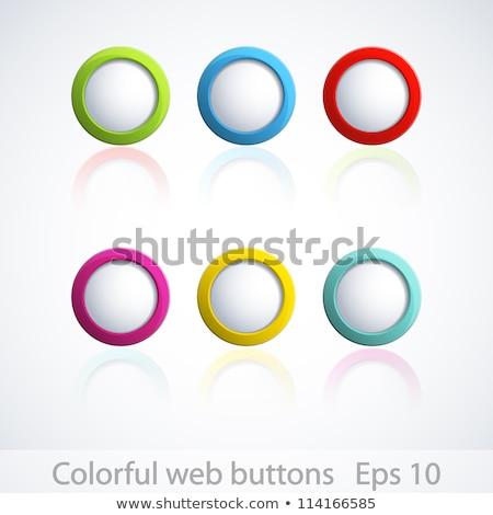 Fikir düğme 3D klavye kırmızı Stok fotoğraf © tashatuvango