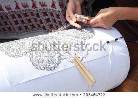 Lace-making Stock Photos, Stock Images and Vectors | Stockfresh