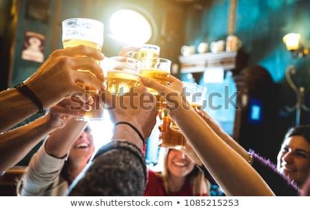 beer at the bar stock photo © givaga