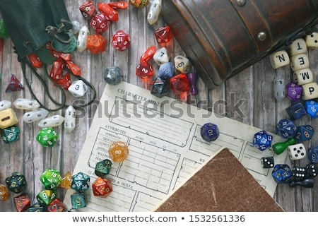 A Set of Role Playing Stock photo © bluering