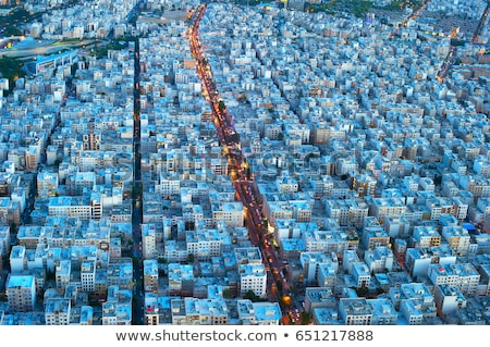 Tehranview from above, Iran Stock photo © joyr