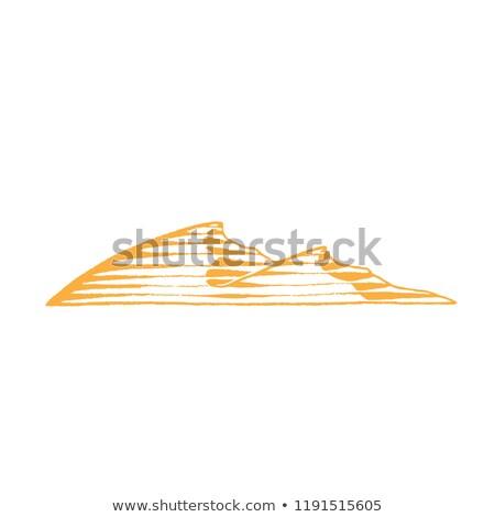 słońce · pustyni · morza · streszczenie · wygaśnięcia · krajobraz - zdjęcia stock © cidepix