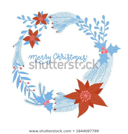Jahrgang · Vektor · Hand · gezeichnet · unterschiedlich · saisonabhängig - stock foto © lady-luck