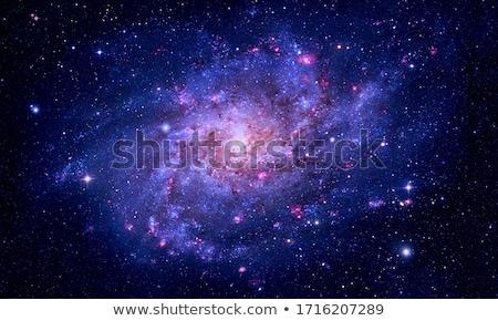 galaxy and nebula elements of this image furnished by nasa stock photo © nasa_images