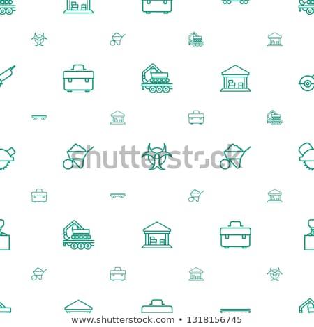 бесшовный дизайна сарай здании фон искусства Сток-фото © colematt