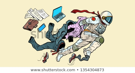 dream of being an astronaut, leader breaks out of stereotypes Stock photo © studiostoks