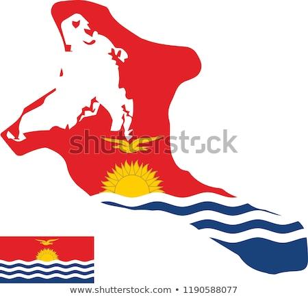 Кирибати · официальный · флаг · солнце · дизайна · Мир - Сток-фото © butenkow
