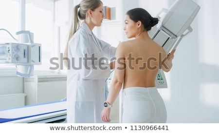 doctor and patientbreast cancer doctor and women stock photo © wavebreak_media