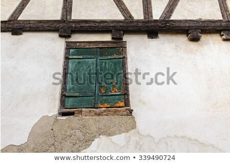 Stockfoto: Kerk · Frankrijk · toren · wijn · gebouw