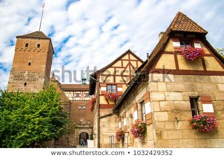башни Германия стены замок город каменные Сток-фото © borisb17