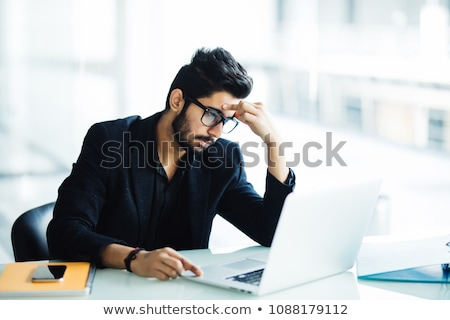 Disappointed Businessman In Office Stock photo © AndreyPopov