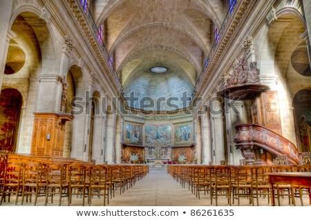 Hölgy templom Bordeau Franciaország kápolna Stock fotó © borisb17