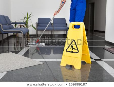 очистки служба полу здравоохранения дезинфицирующее средство Сток-фото © AndreyPopov