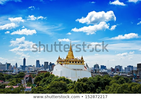 Golden Mount in Bangkok Stock photo © pinkblue