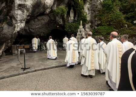 Our Lady of Lourdes Chapel Stock photo © aladin66