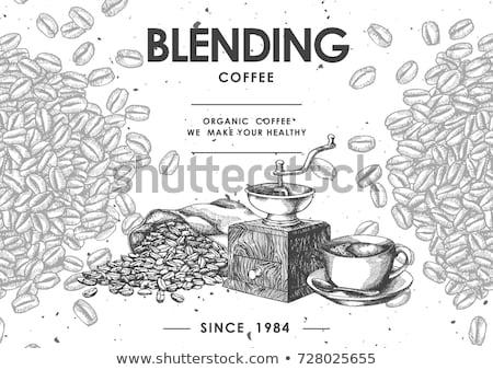 кофе · складе · изображение · свежие · продовольствие · природы - Сток-фото © oleksandro