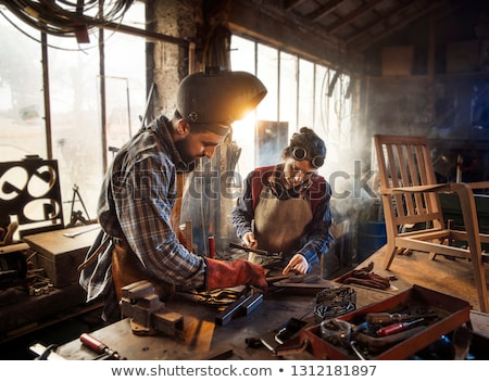 Two artisan workers Stock photo © photography33