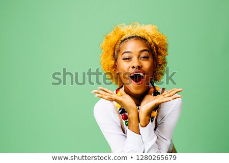 Portrait of a woman with bleached hair Stock photo © photography33