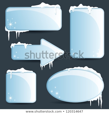 Button Icon: Price frozen Stock photo © RomanenkoAlex
