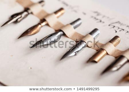 vintage writing stock photo © tiero